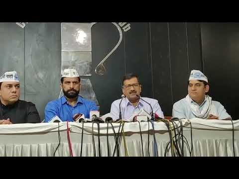 AAP National Convenor Arvind Kejriwal Briefs From Chandigarh