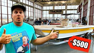 I Bought My DREAM Fishing Boat For $500?!?! (Bad Idea?)