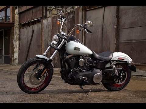 2016 Harley Davidson Dyna Street Bob - Test Ride and Review