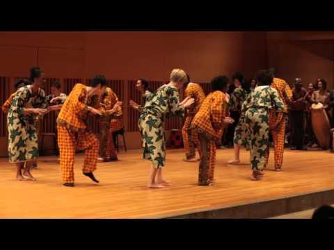 Abraham Adzenyah - 46 Years of West African Drumming at Wesleyan