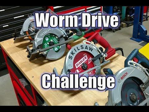 Hitachi C7WDM vs Skilsaw vs Bosch vs Ridgid 7-1/4″ Worm Drive Challenge