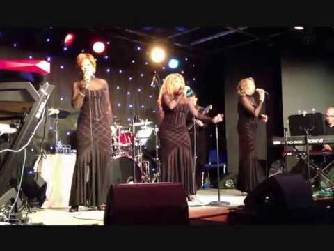 "The Three Degrees - ""Can't You See What You're Doing To Me"" Live at 'The Brook', Soham, UK."