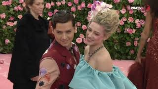 Cole Sprouse, Lili Reinhart arrive at 2019 Met Gala Red carpet