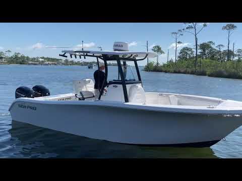 Sea Pro 259 CC video