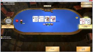 Texas Holdem Poker Heads Up - 1.5 Dollar Pokerstars -- Svenska