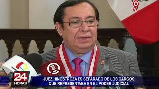Caso CNM: Separan A Hinostroza De Sus Cargos En El Poder Judicial