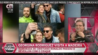 Cristiano Ronaldo Passa Réveillon Na Madeira Acompanhado Da Namorada Georgina Rodriguez