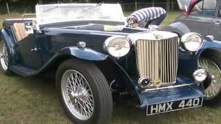 preview picture of video 'Flitwick Classic Car And Bike Show 4th August 2013'