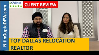 Another 5-Star video testimonial & review from a home buyer client relocating to Frisco from Bos