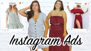 Buying My Clothes From Instagram Ads (this didn't go well)
