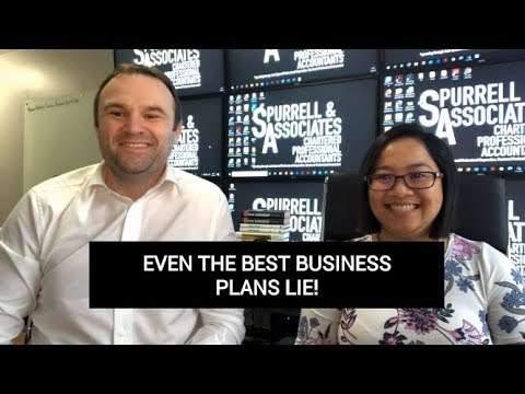 Edmonton Business Consultant | Even the Best Business Plans Lie