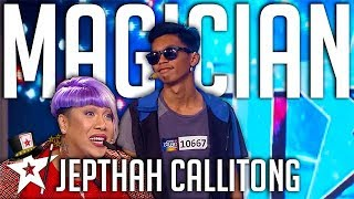 Magician Jepthah Callitong WOWS Judges on Pilipinas Got Talent 2017 | Magicians Got Talent