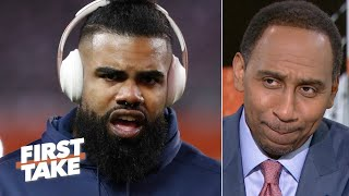 Stephen A. is 'allergic' to admitting the Cowboys are better than the Rams | First Take