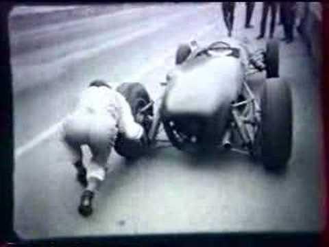Affiche Ancienne MONTE CARLO Course Auto An 60 Poster MONACO CARPENTER Sport BRM