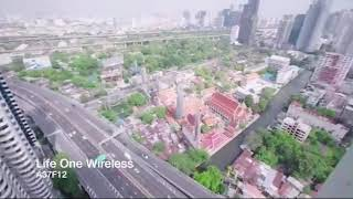 Life One Wireless | Luxury Newly Completed High-Rise Condo at Wireless Road - 1 Bed Plus Unit on 37th Floor Facing North - 12% Discount!