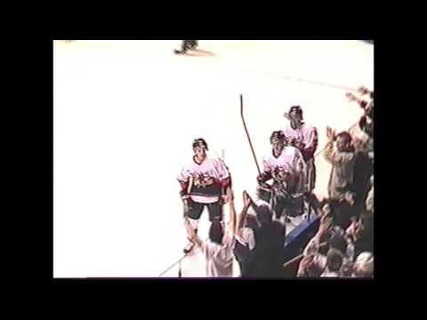 Victoria vs Burnaby BCHL Playoff 2001