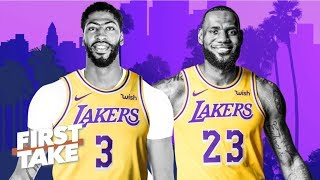 'Major bust' if the Lakers don't win a title with LeBron, Anthony Davis – Max Kellerman | First Take