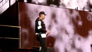 Chris Brown and Tyga- Ayo live