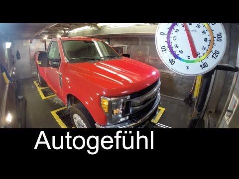 2017 Ford Super Duty Truck Testing F450 F350 F250 - Autogefühl