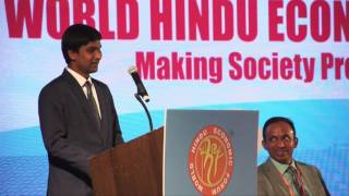 Shri Srikanth Bolla Speech at WHEF 2016@Los Angeles