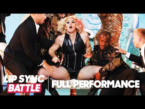 "Johnny Weir Channels Lady Gaga for ""Paparazzi"" 