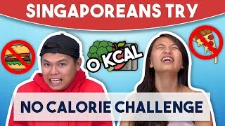 Singaporeans Try: 72 Hour No Calorie Challenge