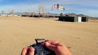 Eachine E500 Mirage VTOL RC Airplane Vertical Flight