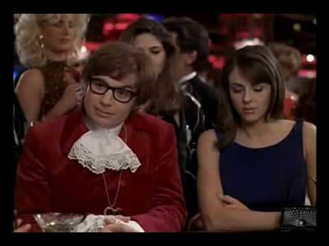 Austin Powers Blackjack Scene