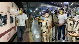 Sonu Sood sends over 1000 migrants to UP and Bihar from Thane in multiple trains amid lockdown