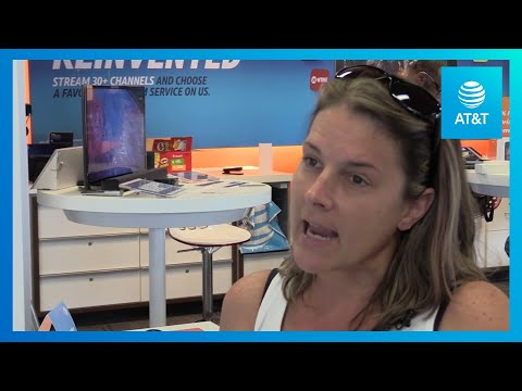 First AT&T Store Reopens After Hurricane Michael-youtubevideotext