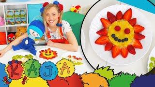 KÁJA A BAMBULÁČEK - Ovocné obrázky