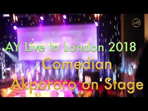 Comedian Akpororo Talking About Naija Ghosts at AY Live In London