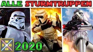 Alle STURMTRUPPEN des IMPERIUMS in 2020! [NEU] - STAR WARS erklärt (REWORK)