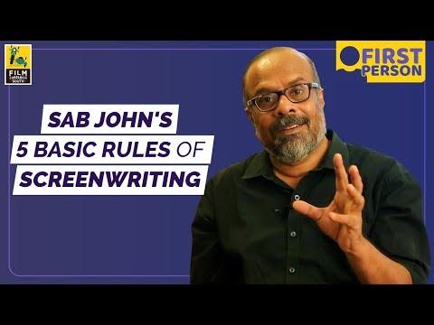 Essentials Of Screenwriting   Sab John
