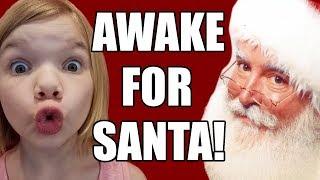 Awake For Santa Claus! Staying Up Late Christmas Eve! | Babyteeth More!