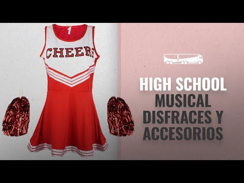 10 Mejores Disfraces Y Accesorios De High School Musical : Disfraz de animadora, disfraz de High