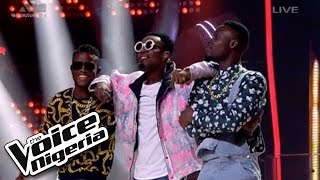 "#TeamPatoranking Sings ""No Kissing Baby""  Live Show  The Voice Nigeria 2016"