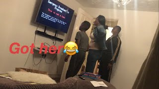 End of the world prank on my mom
