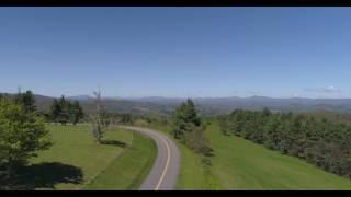 Blue Ridge Parkway Aerial Tour May 2017 / DJI Phantom 4 Pro 4K