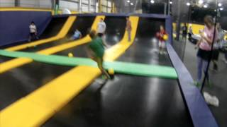 Tour of Portland, Maine's Get Air trampoline park