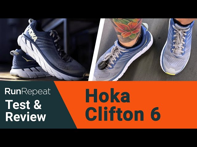 Hoka One One Clifton 6 test & review - A lightweight yet max cushioned shoe