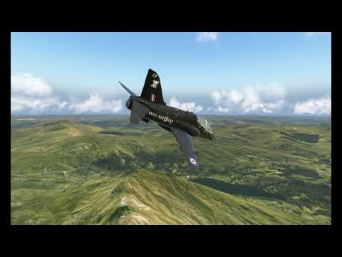 Orbx True Earth North Wales ULTRA LOW LEVEL in X-Plane 11 - Oculus Rift S