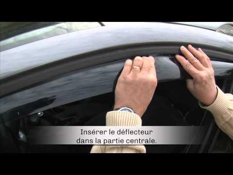 Déflecteurs d'air FARAD sur Renault Mégane