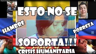 Despierta Venezuela ( Crisis Humanitaria SI LA HAY) |  Miguel Reyes