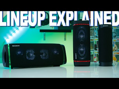 External Review Video Hl99ejFiegw for Sony SRS-XB43 EXTRA BASS Wireless Speakers