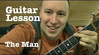 The Man ★ Guitar Lesson ★ EASY ★ Aloe Blacc