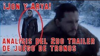 ¡REENCUENTRO DE ARYA Y JON! Análisis 2do