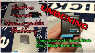 Unboxing GoPro Rechargeable battery | Go Pro Hero8 Black | Hero7 | Hero6  | Latest GoPro Battery