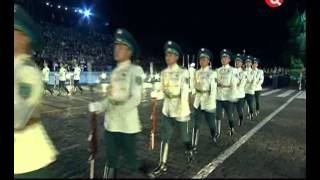Band and Squadron of the Honor Guard of the Republican Guard of Kazakhstan, 2012