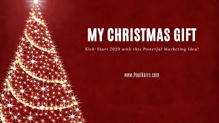 Christmas 2019 | My Number One Marketing Tip for 2020